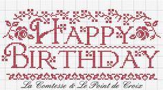 La Comtesse & Le Point De Croix: Happy Birthday Blog!