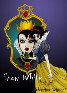 dark Disney princess | Disney Princess (Dark Version): Snow White!°