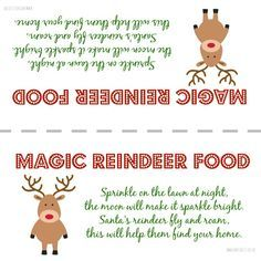 How to create a christmas eve box magic reindeer food reindeer magic reindeer food a recipe and printable life according to mrs shilts christmas eve forumfinder Gallery