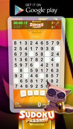 Sudoku Passion screenshot on-run!