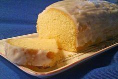 German recipe for a gluten free and vegan lemon cake