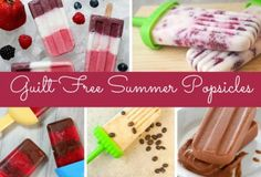 Friday Five:  Guilt Free Popsicles