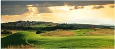 Muirfied Golf Course - Home of the 2013 Open Championship. Stunning Scotland.