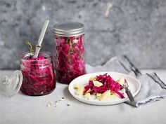 Pikkelöity punakaali Recipes From Heaven, Preserves, Jelly, Salad, Vegan, Fruit, Vegetables, Food Heaven, Christmas