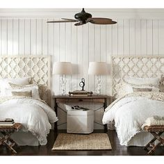 How to Decorate With Twin Beds   Pinterest   Twin beds, Twins and ...