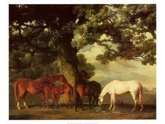 "George Stubbs - ""Green Pastures"""