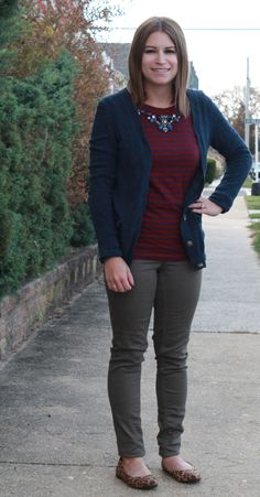 Olive pants outfit