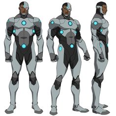 After the beat down Cyborg received at the hands of Doomsday in Death of Superman and I thought he could use an upgrade. Character Model Sheet, Character Modeling, Comic Character, Character Design, Cyborg Dc Comics, Dc Comics Art, Superman Characters, Dc Comics Characters, Death Of Superman