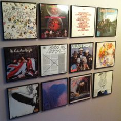 Wall Art Album Covers- Have to frame all of my Mom's Sade Albums