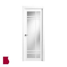 Modelo 940 V / LACADA BLANCA / Colección Lacada / Puertas de interior Sanrafael