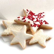 Holiday Butter Cookies - These buttery sugar cookies roll out nicely, and have a beautifully tender/crisp texture.