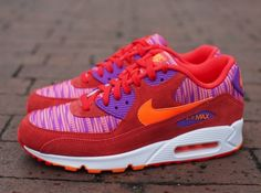 promo code 9cd4a 1f4be Nike Air Max 90 Essential Light Crimson Total Orange Laser Purple Nike Air  Max 90s,