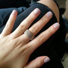 Lilac SNS Manicure
