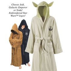 Yes, I'm considering getting one... Star Wars Hooded Robes