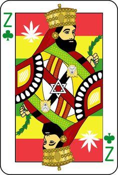 Playing Cards: Haile Selassie by DarkoJuan on DeviantArt