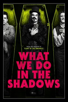 New American What We Do In The Shadows poster