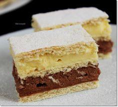 Gizi-receptjei. Várok mindenkit.: Repülő krémes. Sweet Cookies, Cake Cookies, Sweet Treats, Hungarian Desserts, Hungarian Recipes, Sweet Recipes, Cake Recipes, Dessert Recipes, Salty Snacks