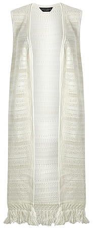 Womens ivory cardigan from Dorothy Perkins - £24 at ClothingByColour.com
