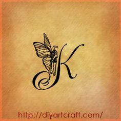 Husband Name Ta... K Design Tattoo