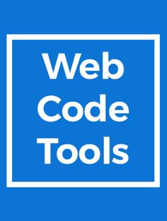 Hot new product on Product Hunt: Web Code Tools