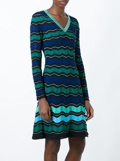 Missoni signature knit dress