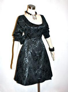 YVES SAINT LAURENT Rive Gauche Vintage Dress Black by StatedStyle
