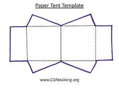 Tiny Tent Template  Craft Ideas    Tents Template And