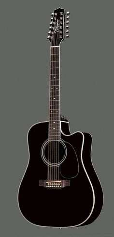 Takamine Ef381sc 12 String Acoustic Electric Guitar With