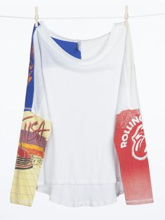 Surf City Tee. Mix of old and new. Shop at Akogare.com. #vintage