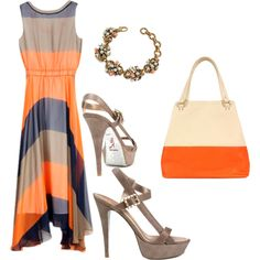 Color Blocking, created by happicamper on Polyvore
