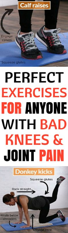 Perfect Strengthening Exercises For Anyone With Bad Knees And Joint Pain