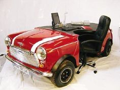 Mini Cooper Office Desk!