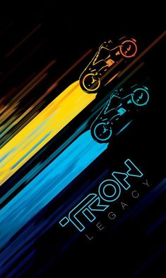 The movie sucked (but had a good soundtrack) but this looks pretty good. I beg to differ! None of the Tron movies sucked! Cultura Pop, Cool Posters, Film Posters, Soundtrack, Tron Art, Tron Uprising, Science Fiction, Wallpaper Animes, Light Cycle