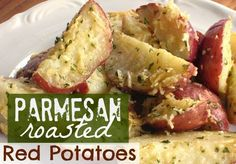 Parmesan Roasted Red Potatoes Recipe ~ the best recipes of all time