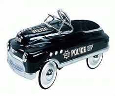 Beautiful Police pedal car
