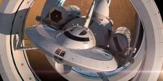"""NASA's real life Enterprise may take us to other star systems one day. By Jesus Diaz, who says– """"This is the starship that may take us where no human has gone before. And it has me screaming like a little Klingon girl."""""""