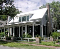 Lowcountry Cottage - Southern Living Plan SL-1121 by Moser Design Group.