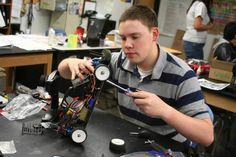 Radio-control cars provide engineering hook for R. School S, High School, Stories Of Success, Radio Control, Rc Cars, Lions, Purpose, Engineering, Wheels
