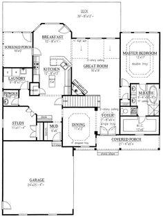 Rustic w/ basement Floor 1