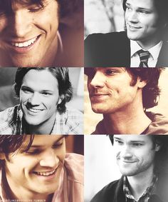 Sam Winchester + dimples