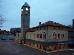 Mount Royal station, in the Bolton Hill neighbourhood of Baltimore. it's actually part of MICA and I cannot wait to move.
