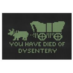 Oregon Trail Cross Stitch #retro #gaming #crafty