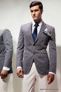 Moschino Suit (1930'2 Inspired Cheap & Chic Bespoke 3 Piece Suit