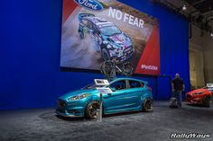 Ford Fiesta ST Cinemotive, Ford Booth SEMA 2015. #RallyWays