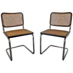 Marcel breuer tubular steel chairs 1928 29 bauhaus i n d u s t r i a l d e s i g n - Chaise cobra studio pierre cardin ...