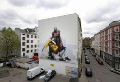 Conor Harrington, HuskMitNavn, Maya Hayuk, Roa and Daleast x Surface in Copenhagen | Urbanite