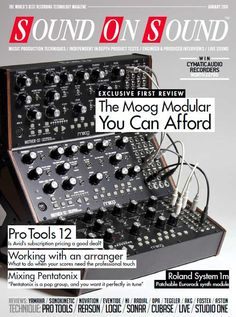Sound On Sound January 2016 PDF Team DECiBEL | 09 May 2016 | 376 Pages | 54.9 MB January 2016 issue of Sound on Sound Magazine – The world's best record