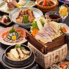 日本料理フルコース