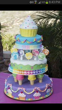 Kids cake - OMG - how did they do this?? #kidsbirthdaycake