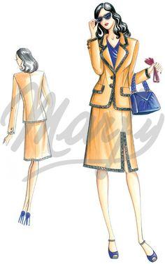Model 2721 | Sewing Pattern Jackets / Shrugs